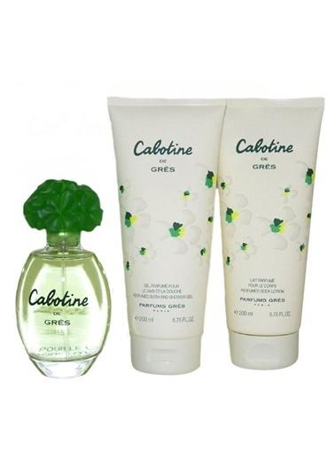 Cabotine Gres Cabotine 100 Ml Edt + 200 Ml Bl + 200 Sg Renksiz